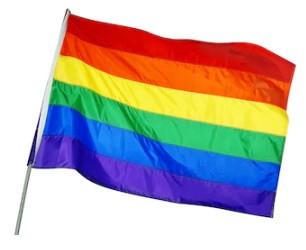Flaga tęczowa 150x90 cm