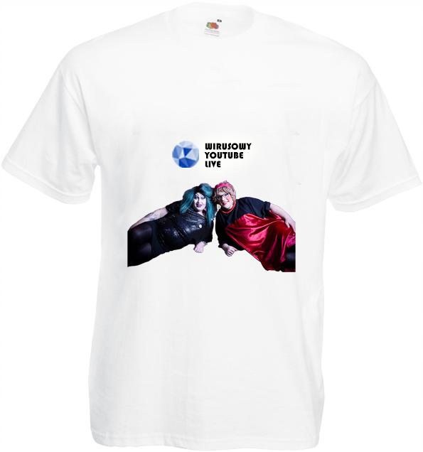 Koszulka: Wirusowy YouTube LIVE