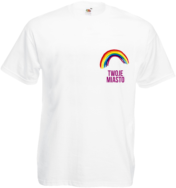 Koszulka: Mała Tęcza + Twoje Miasto