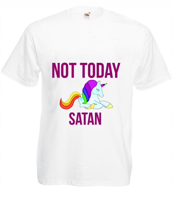 Koszulka: Not Today Satan