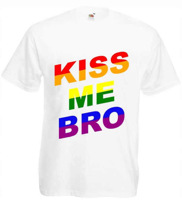 Koszulka: Kiss Me Bro