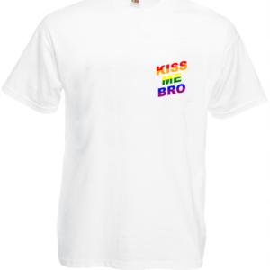 Koszulka: Kiss Me Bro (małe)