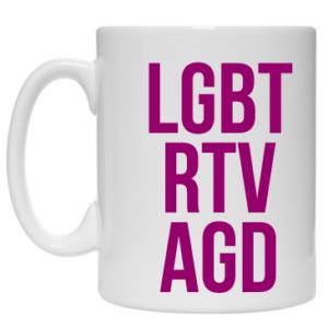 Kubek: LGBT RTV AGD