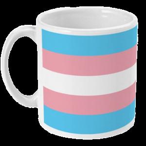 Kubek: Flaga osób trans*