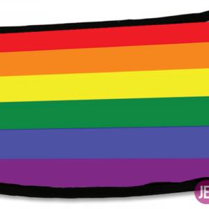 Maseczka: tęczowa flaga