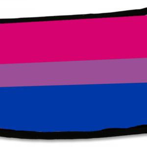 Maseczka: biseksualna flaga
