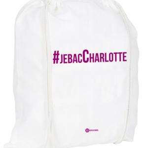 Plecak / worek: #jebacCharlotte