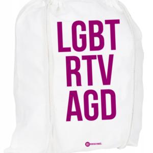 Plecak / worek: LGBT RTV AGD