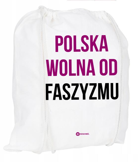 Plecak / worek: Polska wolna od faszyzmu