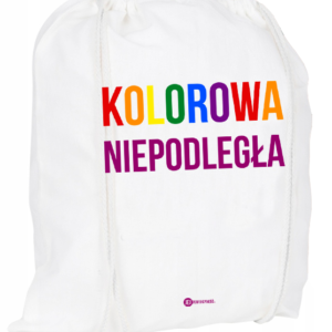 Plecak / worek: Kolorowa niepodległa