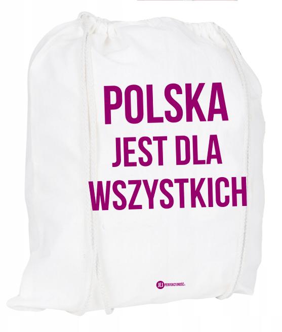 Plecak / worek: Polska jest dla wszystkich