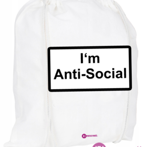 Plecak / worek: I'm Anti-Social