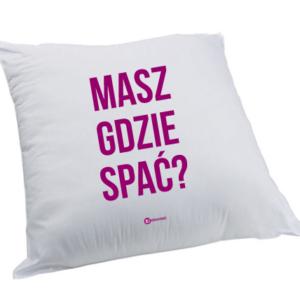 Poduszka: Masz gdzie spać?