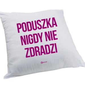 Poduszka: Poduszka nigdy nie zdradzi