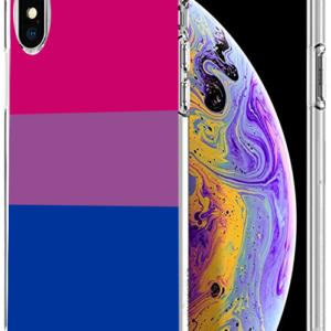 iPhone case: flaga osób biseksualnych