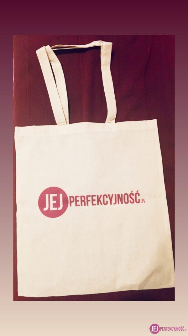Torba z logo JejPerfekcyjnosc.pl