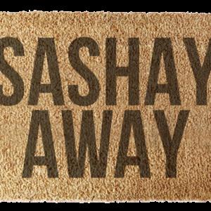 Wycieraczka: Sashay Away