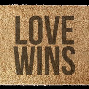 Wycieraczka: Love Wins