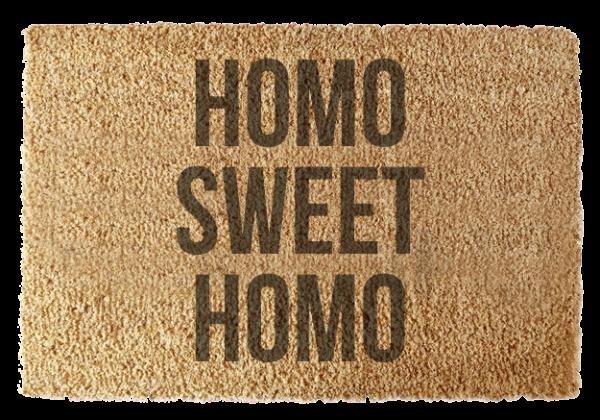 Wycieraczka: Homo Sweet Homo